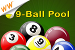 If head-to-head isn't your style, try our single-player pool game.  Chalk up your virtual cue in 9-Ball Pool, a cash game!