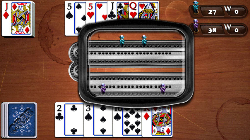 Aces® Cribbage screen shot