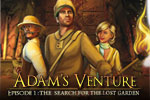 Adam Venture is a new action-adventure hero; one who uses his wits to solve puzzles instead of his fists! Non-violent gameplay for the whole family.
