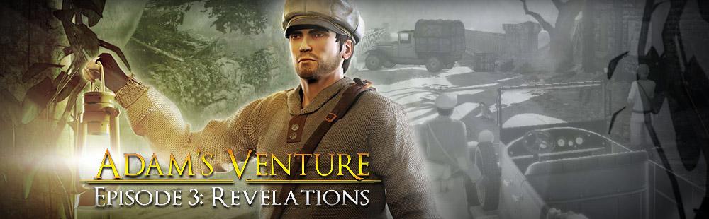 Adam's Venture 3: Revelations