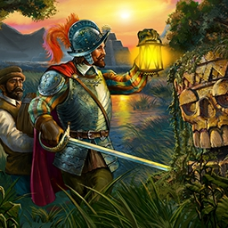 Adelantado Trilogy Book Two - Who said mutiny?  In Adelantado Trilogy Book Two, continue Don Diego's time management adventure as your expedition moves even deeper into the jungle. - logo