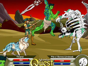 Adventure Quest screen shot