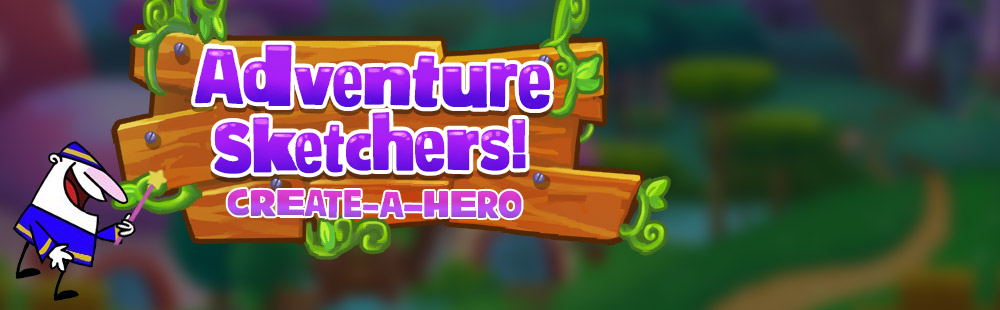 Adventure Sketchers Create-a-Hero