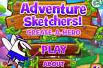 Screenshot of Adventure Sketchers Create-a-Hero