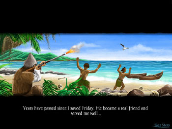 Adventures of Robinson Crusoe screen shot