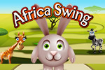 Collect stars and avoid obstacles in Africa Swing! This game won a 28-hour-long, game-making competition - a 2013 AT&T Mobile App Hackathon!