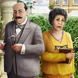 Agatha Christie - Dead Man's Folly - Join famous detective Hercule Poirot in Agatha Christie - Dead Man's Folly! - logo