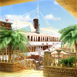 Agatha Christie - Death on the Nile - Solve a classic murder mystery aboard a beautiful 1930's paddle steamer! - logo
