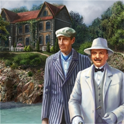 Agatha Christie - Peril at End House - This timeless novel is now an incredible hidden object, mystery game! - logo