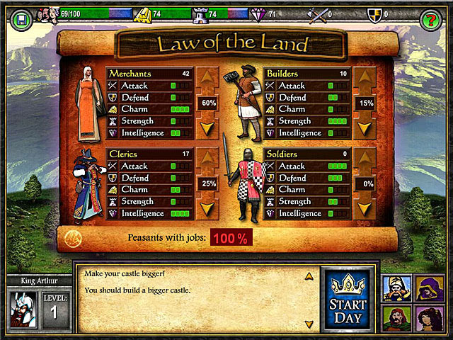 Age of Castles screen shot