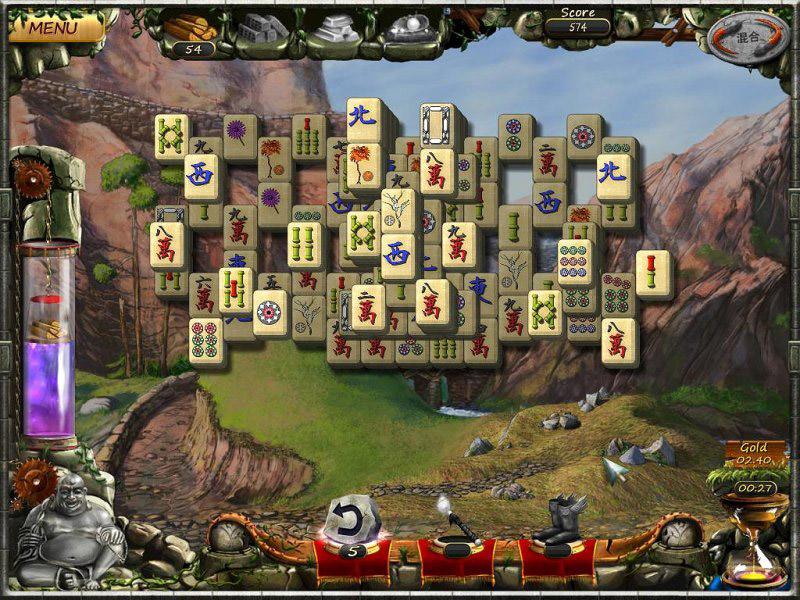 Age of Mahjong screen shot