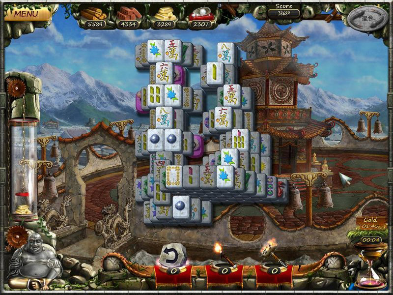 Age of Mahjong screen shot