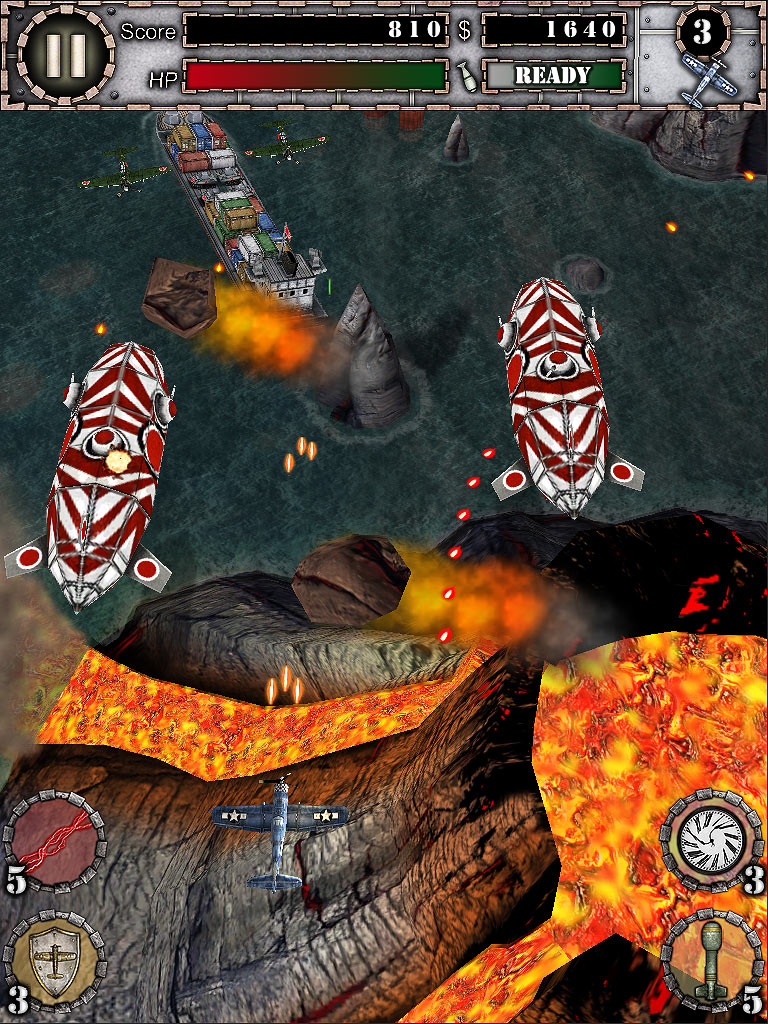 Air Attack HD screen shot