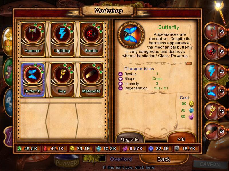 Akhra: The Treasures screen shot