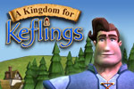 Build a medieval world in A Kingdom for Keflings, a city-building game!