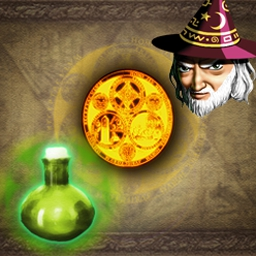 Alchemy Deluxe - Discover rich levels and luminous surprises in this puzzler. - logo