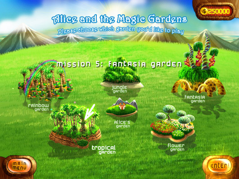 Alice and the Magic Gardens screen shot