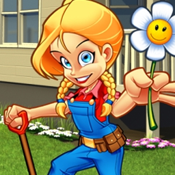 Alice Greenfingers 2 - Restore Uncle Berry's farm in the latest Alice Greenfingers adventure! - logo