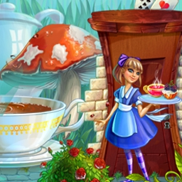 Alice's Tea Cup Madness - Help Alice return home by serving tea and pastries across Wonderland! - logo