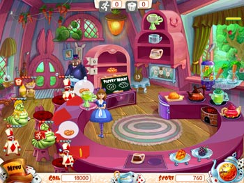 Alice's Tea Cup Madness screen shot