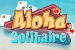 Relax on the beach with classic cards and mahjong in Aloha Solitaire!