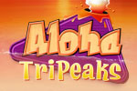 All aboard for a balloon trip over Hawaii in Aloha TriPeaks solitaire!