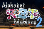 Your child will enjoy learning to recognize and pronounce the alphabet with the crazy robot letters in Alphabet Robots Mahjong 2!