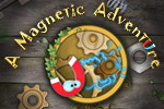 Use a magnet to solve physics-based puzzles in A Magnetic Adventure!