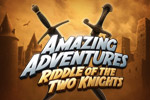 In Amazing Adventures: Riddle of The Two Knights travel the globe to find priceless missing pieces of a medieval chessboard!