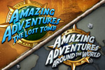 Play Amazing Adventures Lost Tomb AND Amazing Adventures Around the World!