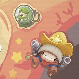 Amazing Sheriff - Play Amazing Sheriff and take control of this high flying Sheriff on a wheel-spinning, bottle-breaking wild ride! Yee-haw! - logo