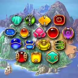Amazonia - Use your matching skills to free spirits and win treasure in Amazonia! - logo