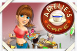 Turn Amelie's Cafe into the hippest hangout in town as you feed the masses!