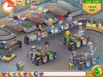 Amelie's Cafe screen shot