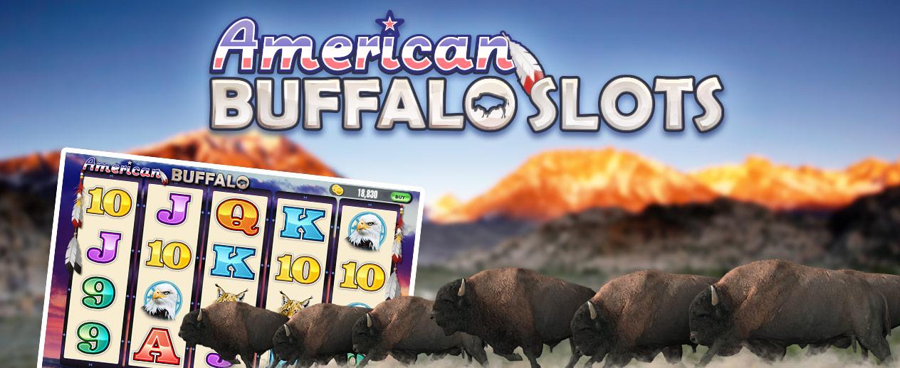 American Buffalo Slots - It's tons of casino fun!