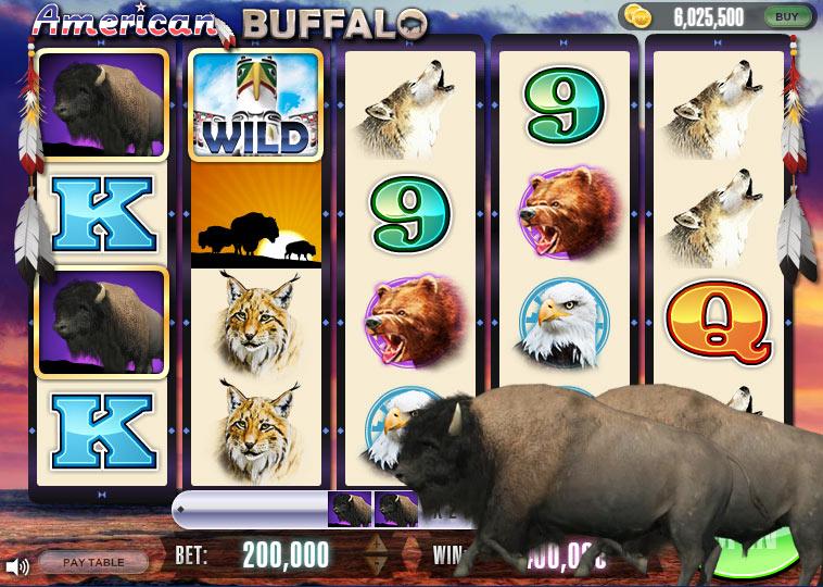 play free buffalo slot games