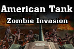 Roll out to save the city from a zombie outbreak in American Tank:  Zombie Invasion!