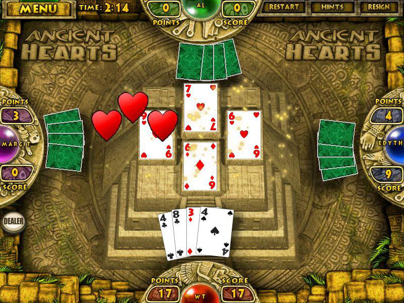 Ancient Hearts and Spades screen shot