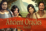 Play 3 different games in the Ancient Oracles 3 in 1 Bundle.  Unveil the Oracles' secrets in this combination of match-3 and hidden object games.