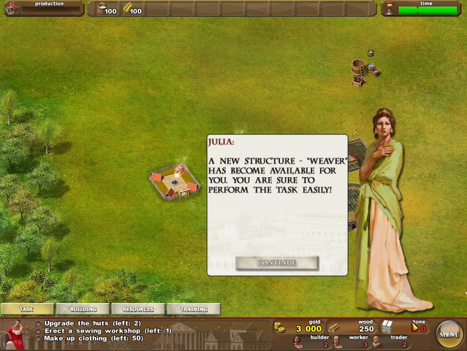 Ancient Rome screen shot