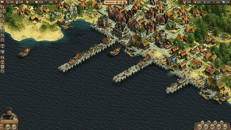 Anno Online screen shot