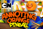 Don't be an apple! Have high fructose fun with Orange and the gang in the wacky arcade world of Annoying Orange Pinball!