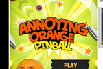 Screenshot of Annoying Orange Pinball