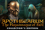 """The dark ages are coming...' Battle against an ancient evil in the hidden object game Apothecarium: The Renaissance of Evil Collector's Edition."