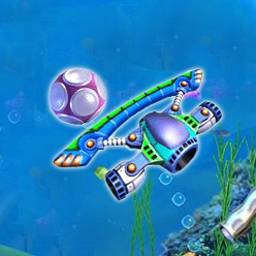 AquaBall - Get ready for an exciting deep-sea experience in Aquaball, a new Arkanoid game from the creators of Magic Ball 2. - logo