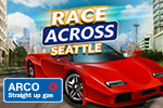 Collect gas, keep your tank full and avoid other drivers in ARCO Race Across Seattle. Play this FREE arcade racing game today!
