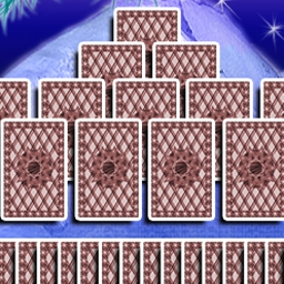 Arctic Tri Peaks Solitaire - Try Arctic Tri Peaks Solitaire today--it's addictive and fun! - logo