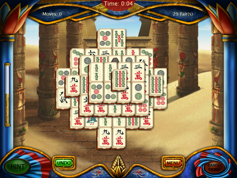 Art Mahjongg Egypt screen shot
