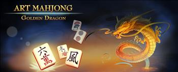Art Mahjong: Golden Dragon - image