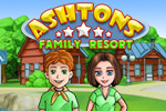 Run resorts worldwide with quick clicking in Ashton's Family Resort.
